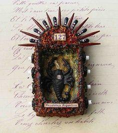 pinterest matchbox shrine - Bing Images