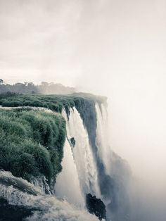 Victoria Falls is the only waterfall in the world with a length of more than a kilometer and a height of more than hundred meters. It is also considered to be the largest fall in the world Places To Travel, Places To See, Places Around The World, Around The Worlds, Into The Wild, Nature Photography, Travel Photography, Nature Sauvage, All Nature