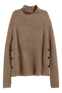 Camisola em mistura de alpaca | H&M