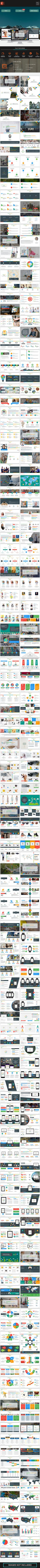 Loroati PowerPoint Template  #ui design #woocomerce • Click here to download ! http://graphicriver.net/item/loroati-powerpoint-template/15939674?ref=pxcr