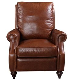 Waldorf Leather Recliner - Fabric / Colour: Century Vintage - Leather Recliners