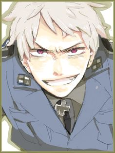 Prussia...OMFG can i marry him PLEASE?!?!<<ja sure << Get your hands off him, he's meine <3