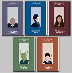 Fabulous Dr. Who posters by The Geekerie on Etsy.