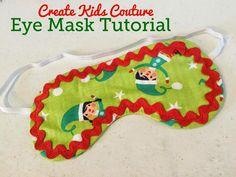 Free Eye Mask Pattern