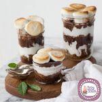 Variegato al cioccolato con pezzetti di Brownies