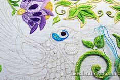 Hummingbird Embroidery