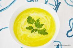 Akademia Ciastek... i nie tylko: Zupa z kukurydzy i cukinii Thai Red Curry, Ethnic Recipes, Food, Meals, Yemek, Eten