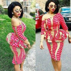 Classy picture collection of Beautiful Ankara Skirt And Blouse Styles These are the most beautiful ankara skirt and blouse trending at the moment. If you must rock anything ankara skirt and blouse styles and design. Unique Ankara Styles, Ankara Short Gown Styles, Short Gowns, Ankara Gowns, Ankara Dress, Ankara Fabric, Kente Styles, African Print Dresses, African Print Fashion
