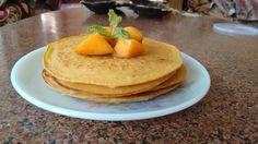 Eggless Mango Mint Pancake Recipe