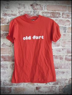 Vintage 80's Old Fart Novelty Shirt  Size by RackRaidersVintage, $15.00