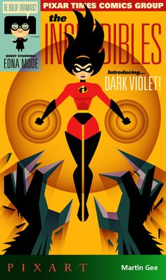 *VIOLET PARR ~ The Incredibles, 2004