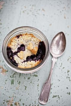 Mason jar Tiny Pie.