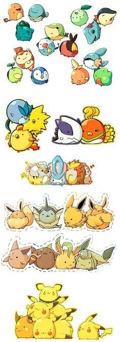 If Pokémon were round!