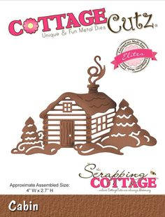 New Cottage Cutz dies in stock today, order yours now at Crafts U Love http://www.craftsulove.co.uk/cottagecutz.htm