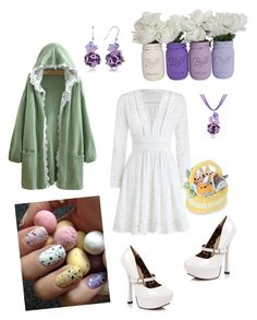 """Easter/White Day"" by rilakkuma394 ❤ liked on Polyvore featuring Zimmermann, Dolci Gioie, Ellie and Disney"