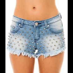Reverse shorts from Karmaloop Currently sold out. Super cute. Medium rise. Stretchy fits between 0-2 . Perfect condition. Worn a few times. I prefer low rise. But I still wear my black ones which are identical. :) karmaloop Jeans