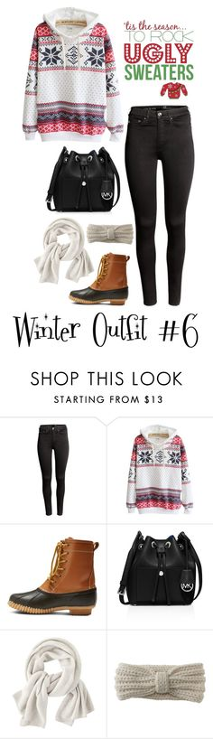 """""""Winter Outfit #6"""" by megan-walz21 ❤ liked on Polyvore featuring H&M, Merona, MICHAEL Michael Kors, Wrap and Aéropostale"""