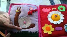 Book for SPECIAL NEED kid   - Hand crafted baby quiet book -for Kristin - Made by Darina Scepkova......... Rucne robena detska knizka pre Kristinku