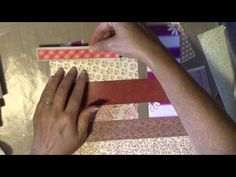 Making Franken-pages - Using up those paper scraps! - YouTube