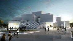 Sustainability-obsessed starchitect Bjarke Ingels reveals the design for LEGO House, a garden-topped  experience center  to be built in the plastic brick company town of Billund, Denmark.