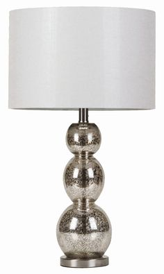 Table Lamps Metallic Finish Table Lamp by Coaster - living room