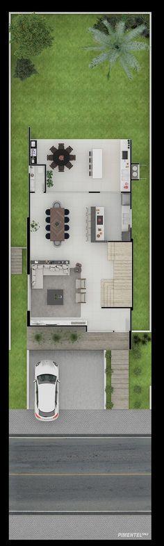 Home Design Plans, Ideal Home, Steel Frame, House Plans, Floor Plans, Layout, House Design, Places, 3d