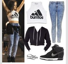 Love this girls style