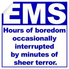 I'd say that's pretty accurate. #ems