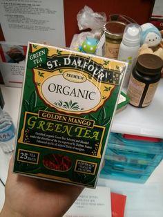 Favorite golden mango green tea