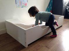 Cama Montessori - Kutuva - Materiales y Mobiliario infantil artesanal