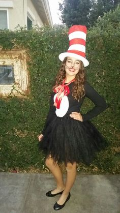 Cat in the hat costume 2015 Jordyn Elting