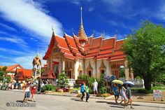 Wat Chalong in Phuket - Chalong Bay Attractions