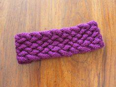 Knitting Pattern MultiStrand Braided Knit Headband