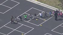 San Bernardino shooting: Boy, and two adults dead at California primary school - Two adults and a child have been killed in a shooting in a classroom of a primary school in San Bernardino, California, police say. A Classroom, Primary School, Police, Child, California, San, News, Elementary Schools, Children