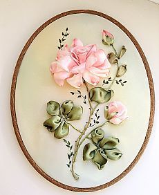 Wonderful Ribbon Embroidery Flowers by Hand Ideas. Enchanting Ribbon Embroidery Flowers by Hand Ideas. Ribbon Embroidery Tutorial, Silk Ribbon Embroidery, Crewel Embroidery, Embroidery Patterns, Embroidery Supplies, Embroidery Thread, Eyebrow Embroidery, Embroidery Bracelets, Ribbon Art