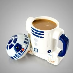 star wars, coffee, coffee cup, cute, r2