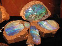Superbes Opales Australie