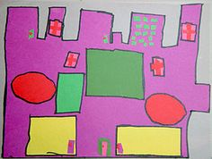 Third Grade Art Lesson 10   Looking at Architecture Part 1 Building Our Dream House