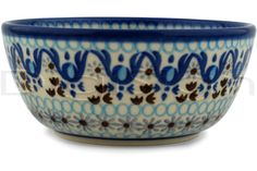 Polish Pottery Stoneware BOWL