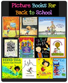 Great picture books for back to school