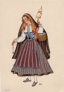 capucha. #trajes portugueses Traditional Fashion, Traditional Dresses, History Of Portugal, White Knee High Socks, Portuguese Culture, Azores, Folk Costume, My Heritage, Cute Images