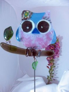 Night Owl Copper Garden Stake | Yard Art | Pinterest | Garden Stakes, Night  Owl And Gardens