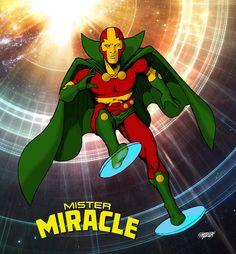 Glaydson Gomes: MISTER MIRACLE (SENHOR MILAGRE)