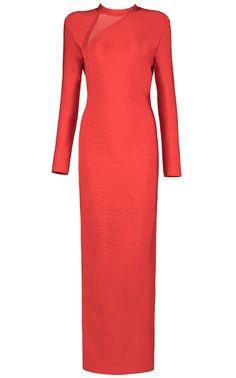Dream it Wear it - Long Sleeve Mesh Evening Bandage Dress Red, $162.17 (http://www.dreamitwearit.com/long-sleeve-mesh-evening-bandage-dress-red/)