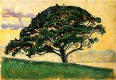 The Bonaventure Pine - Paul Signac