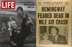 #Fake Fiambres: Las noticias sobre mi muerte han sido exageradas by Mark #Twain. Ernest #Hemingway (1954)  #McCartney (12X69) Margaret #Thatcher´s Cat (2009)
