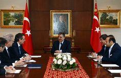 Abdullah Gül Yunanistan Başbakanı Samaras ile Tarabya'da görüştü