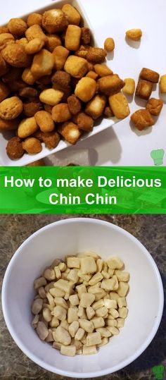 Chin Chin is a delicious fried dough snack recipe that is a very popular appetizer/snack, especially at a party. Guaranteed to disappear into your family's mouths quickly!