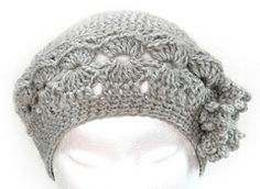 ALINE Crochet Beret - Manual