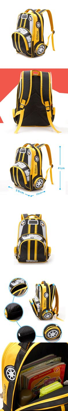 School bags 3D car children fashion bag Character Car-styling Backpacks For Kids Cars Boys Backpack Child School Bag mochila